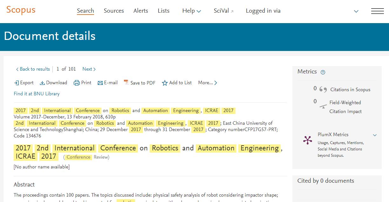 ICRAE 2019|Robotics and Automation Engineering